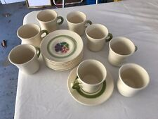 Franciscan Floral Pattern Coffee Cup and Saucer Set