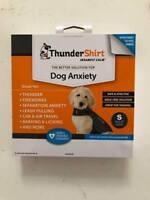 Thundershirt Insanely Calm HGS-T01 Dog Anxiety Shirt S Heather Grey