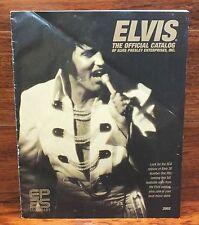 Elvis: The Official Catalog of Elvis Presley Enterprise Inc. 2002 EP25 Legendary