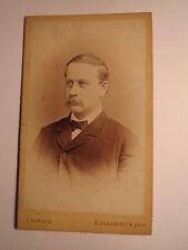 Leipzig - Heinrich Lindenberg als Mann mit Bart im Anzug - Portrait / CDV
