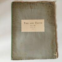 Partitura Time Y Truth Fragmente Der Händelgesellschaft Vol. Xx Händel Siglo XIX