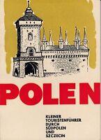 Polen, kleiner Touristenführer durch Südpolen und Szczecin/Stettin/1967