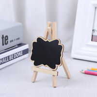 1:12 1/6 Wooden Mini Blackboard DIY Dollhouse Miniature Chalkboard Accessor Hu