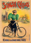 Singer Cycles Fine Art Bicycle Poster Cycling by Clouet