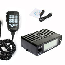 25W Dual Band VHF/UHF 136-174/400-480MHz Mobile FM Transceiver Radio+Free Cable