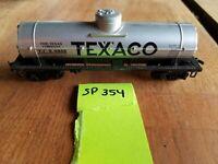 TEXACO SINGLE DOME TANK CAR, TCX 9355, sp354