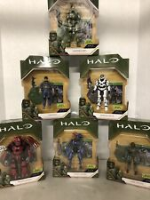 World of HALO Infinite Series 1 Master Chief Pilot Spartan Marine Brute Jackal