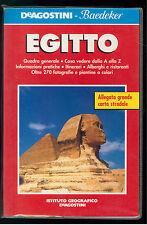 EGITTO DE AGOSTINI  BAEDEKER 1998 VIAGGI GUIDE NORD AFRICA