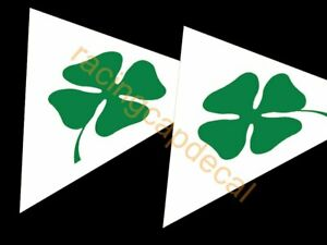 "4"" 102mm Alfa Romeo Clover Leaf fender triangle Quadrifolio Decal Sticker GTV 6"
