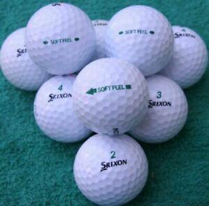 20 30 40 SRIXON SOFT FEEL GOLF BALLS A/PEARL GRADE GREAT QUALITY SPRING OFFER