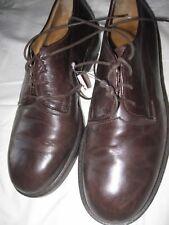 Giorgio Armani Leather Brown Oxford Men's Shoes  42 EU 8.5 US