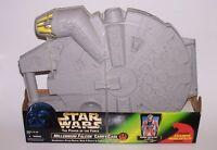 Star Wars POTF Millenium Falcon Carry Case w/Wedge Antilles Figure 1997 NIB