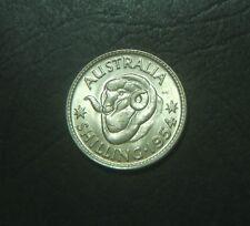1954 Australian Shilling,