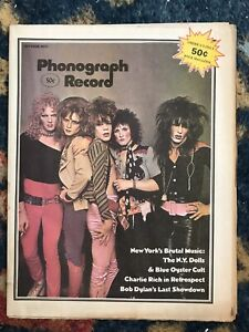 Oct 1973 Phonograph Record Magazine New York DollsBob Dylan Blue Oyster Cult