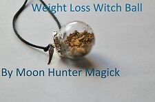 Weight Loss Spell Witch Ball Pagan Wicca Charm Weight Management Spell Talisman