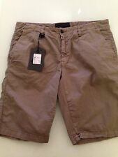 HOX Italia Men's Shorts Khaki Green/Gray Short, Size EU 52