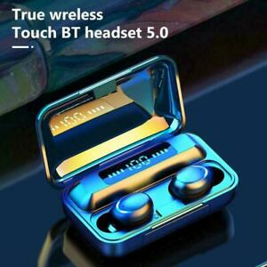 TWS Bluetooth Earbuds Wireless Earphones For iPhone Samsung Android Waterproof