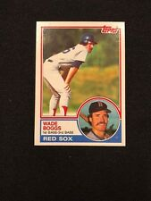 1983 Topps Wade Boggs Rookie RC #498 MINT HOF Boston Red Sox *72