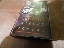 1987 CASSETTE KEEP YOUR DISTANCE BY CURIOSITY KILLED THE CAT. VG. CON.