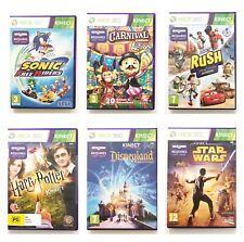Xbox 360 Kinect-wählen Sie Titel-Tanz, Sport, Harry Potter, Carnival