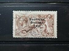 Ireland Stamps -- Ireland 1922 Overprint Great Britain Used 2sh6p
