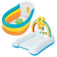 Bestway Inflatable Baby Bath Changing Mat Travel Infant Wash Clean Tub
