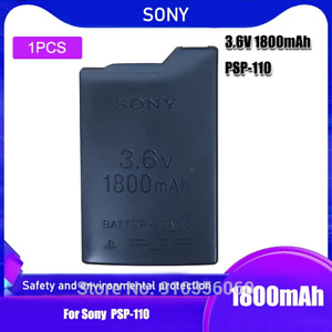 NEW 3.6V Sony 1800mAh Lithium Ion Rechargeable Battery Pack for PSP1000 PSP 1000