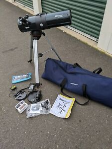 Celestron Star Seeker Telescope Setup with Remote control & carrying bag
