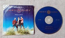 """CD AUDIO INT / LUXY LUXY """"FACE À FACE"""" CD SINGLE PROMO  MERCURY 1995 RARE!!!!!"""