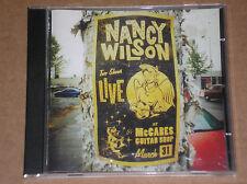 NANCY WILSON - LIVE AT McCABES GUITAR SHOP - CD