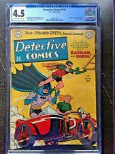 DETECTIVE COMICS #151 CGC VG+ 4.5; OW-W; Jim Mooney motorcycle cvr!