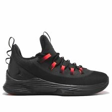 NIKE AIR JORDAN RETRO ULTRA FLY 2 LOW BASKETBALL SHOES BLACK RED AH8110-023