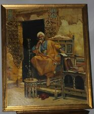 Oil Painting on Canvas 'TO PONDER' signed & dated B. Neertan 1994  [PL2675]