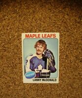 1975-76 Topps Hockey #23 Lanny McDonald (Toronto Maple Leafs)