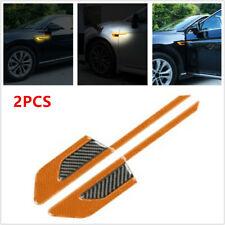 Car Side Vinyl Graphics Decal Carbon Fibre Sport Reflective Sticker Waterproof
