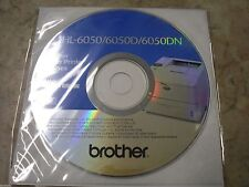 New! Genuine Brother HL6050 6050D 6050DN Printer CD Software Drivers Utilities