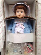 "Danbury Mint Porcelain Collector Easter Doll MELISSA Elke Hutchens 14"" Box"