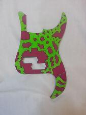 Pickguard for Fender P Bass - Custom Painted - UV - Original Art - PB001
