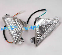 Front Indicator Turn Signals Blinker Lens For Kawasaki 2013-17 Ninja 300 & 300