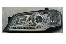 LED Chrome Projector Headlights for Ford Territory TS MODEL 2WD 04 08 DRL Style