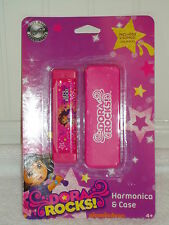NEW DORA ROCKS HARMONICA & CASE