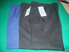 BEND OVER SCRUB PANTS NEW SZ 8 SHORT LOTOF3 BLACK&BLUE