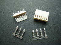 5 set 7 Pin 7P PCB Power Connector Plug Socket header wire Jack 2510 2.54mm