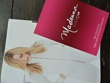 MADONNA H&M Magazine 2006 8 Page Foldout POSTCARD CONFESSIONS TOUR PROMO RARE