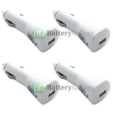 4 NEW USB Car Charger for Apple iPhone SE 3 3G 3GS 4 4S 5 5C 5S 6 6S 7 7S Plus