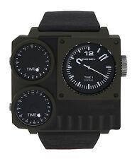 Diesel DZ7248 Men's Kickstart Triple Time Zone PVD Watch