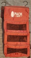 Pack Gear Premium Backpack Organizer Carry-On Organizer with zippers NEW RED
