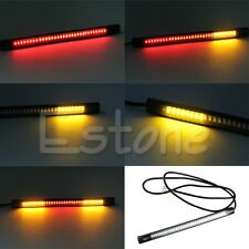 48LED Flexible Motorcycle Light Strip Brake Tail Turn Signal Stop Integrated new