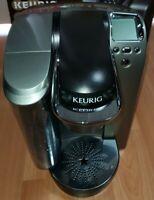 Keurig Model K70 Coffee Maker Black Silver - Tested Works!
