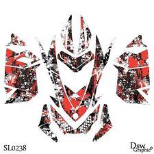 *NEW* SLED GRAPHIC KIT GRAPHICS WRAP FOR SKI-DOO XP MXZ 2008-2013 SL0238